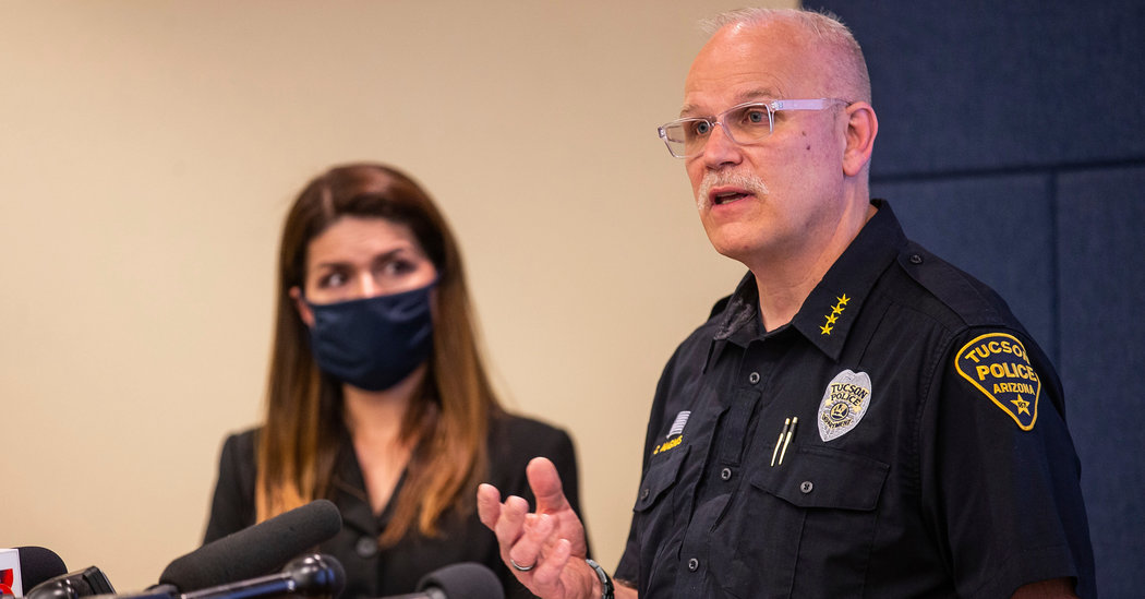 Tucson Police Chief Offers Resignation After Latino Man Dies in Custody