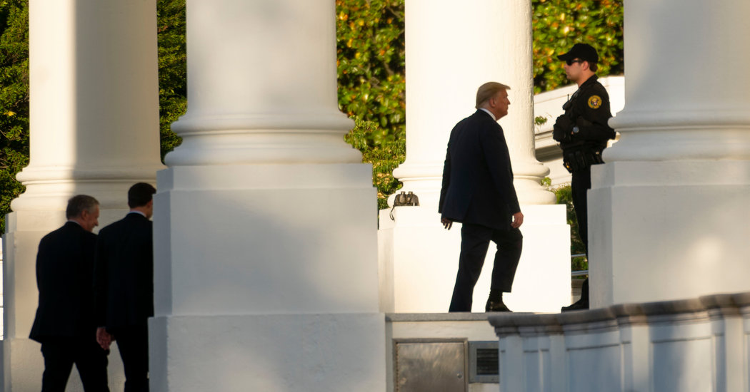 Trump Denies, Then Admits, Going to White House Bunker During Protest