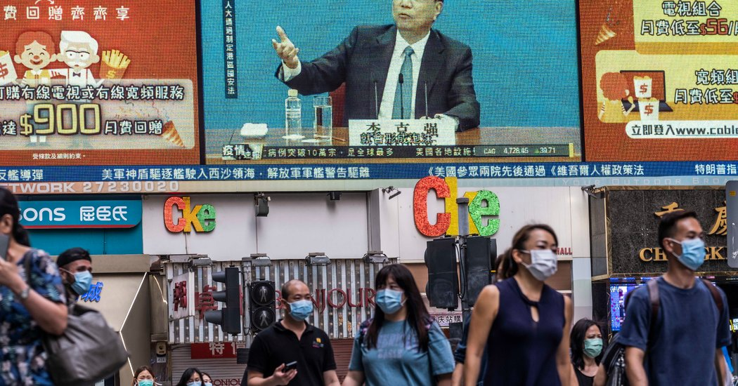 China Offers Measured Response to Trump's Move on Hong Kong