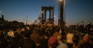 New York City Protesters Shut Down Bridge Traffic