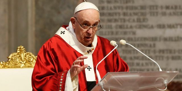 Pope weighs in on Floyd protests, violence