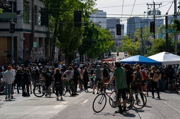 Protest Live Updates: More Shooting in Seattle's 'Autonomous Zone'