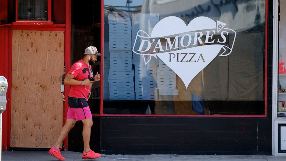LA pizza shop weathers pandemic, takes beating from vandals