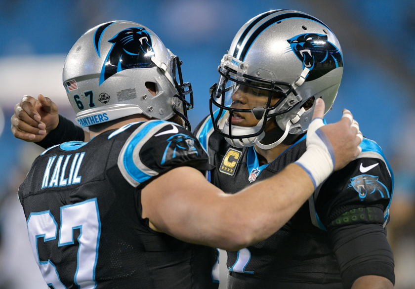 Ryan Kalil says he 'couldn't be more thrilled' to see Cam Newton on Patriots