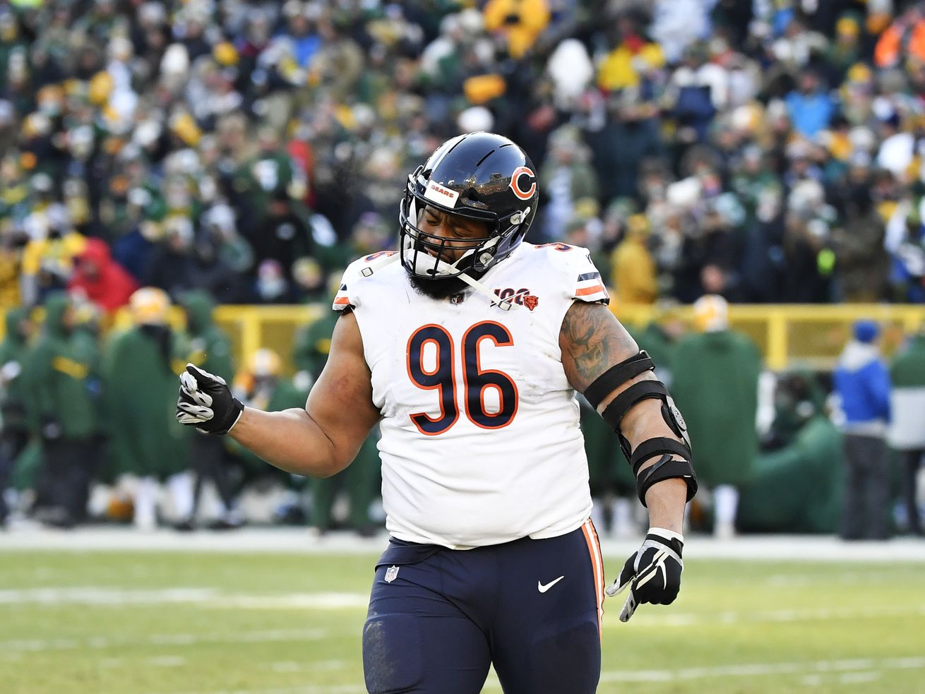 Chicago Bears DT Akiem Hicks: 'I've been censored my whole life'