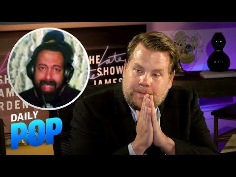 James Corden Tears Up Talking With Emotional Reggie Watts | Daily Pop | E! News