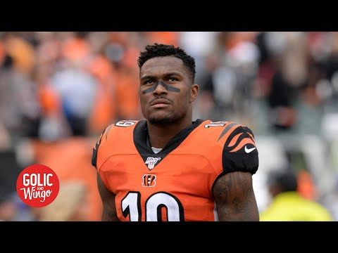 Bengals WR Auden Tate on helping clean up in his hometown of Tampa | Golic and Wingo