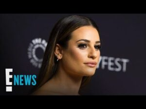 """Lea Michele Apologizes After """"Glee"""" Costar's Accusations   E! News"""