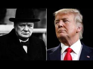 WH says Trump's act was like Churchill. Anderson Cooper isn't buying it