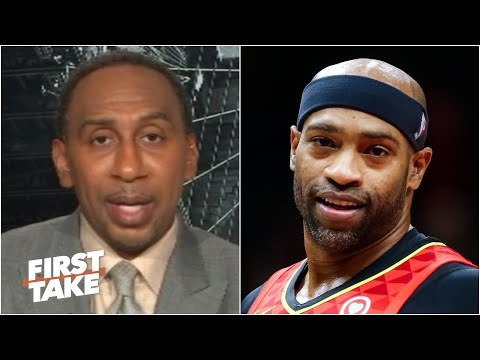 Stephen A. reacts to Vince Carter announcing his retirement | First Take