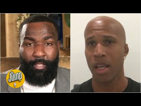 Richard Jefferson and Kendrick Perkins on the protests after the death of George Floyd   The Jump