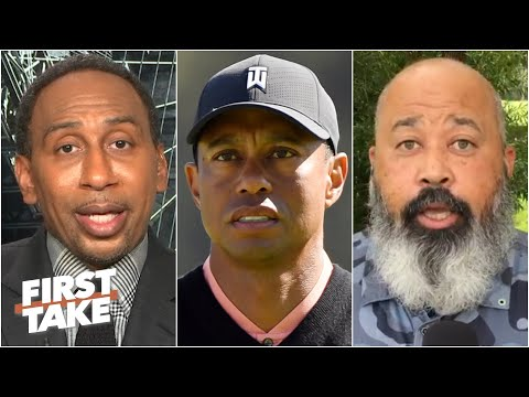 Stephen A. & Michael Collins on Tiger Woods' statement on George Floyd   First Take