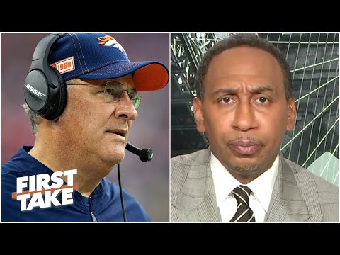 Stephen A. reacts to Broncos coach Vic Fangio's comments about racism in the NFL | First Take