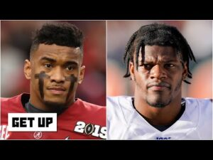 Lamar Jackson vs. Tua Tagovailoa : Which QB would you pick to lead a franchise? | Get Up