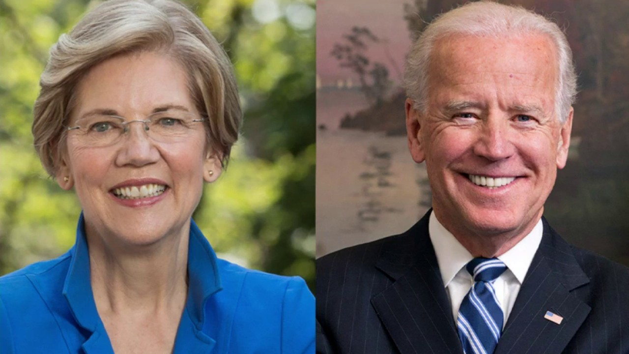 Biden and Warren join forces to haul in campaign cash