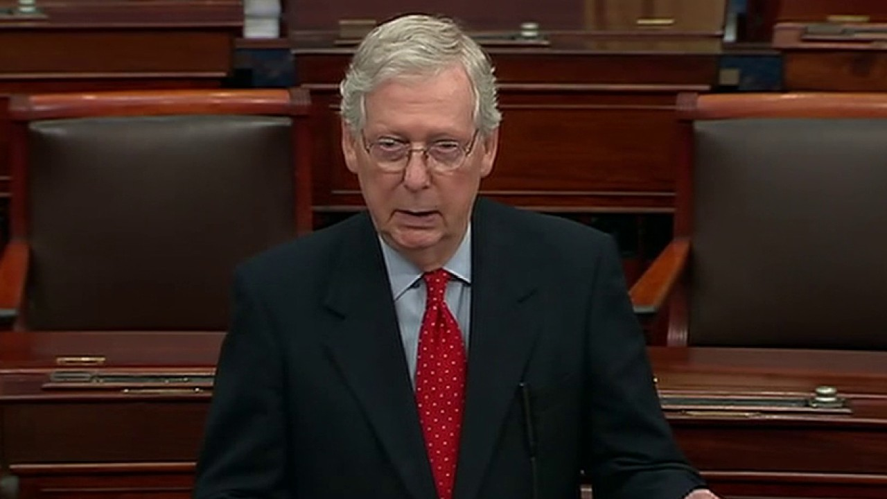 McConnell: George Floyd protests 'hijacked' by rioters committing 'unjust violence'