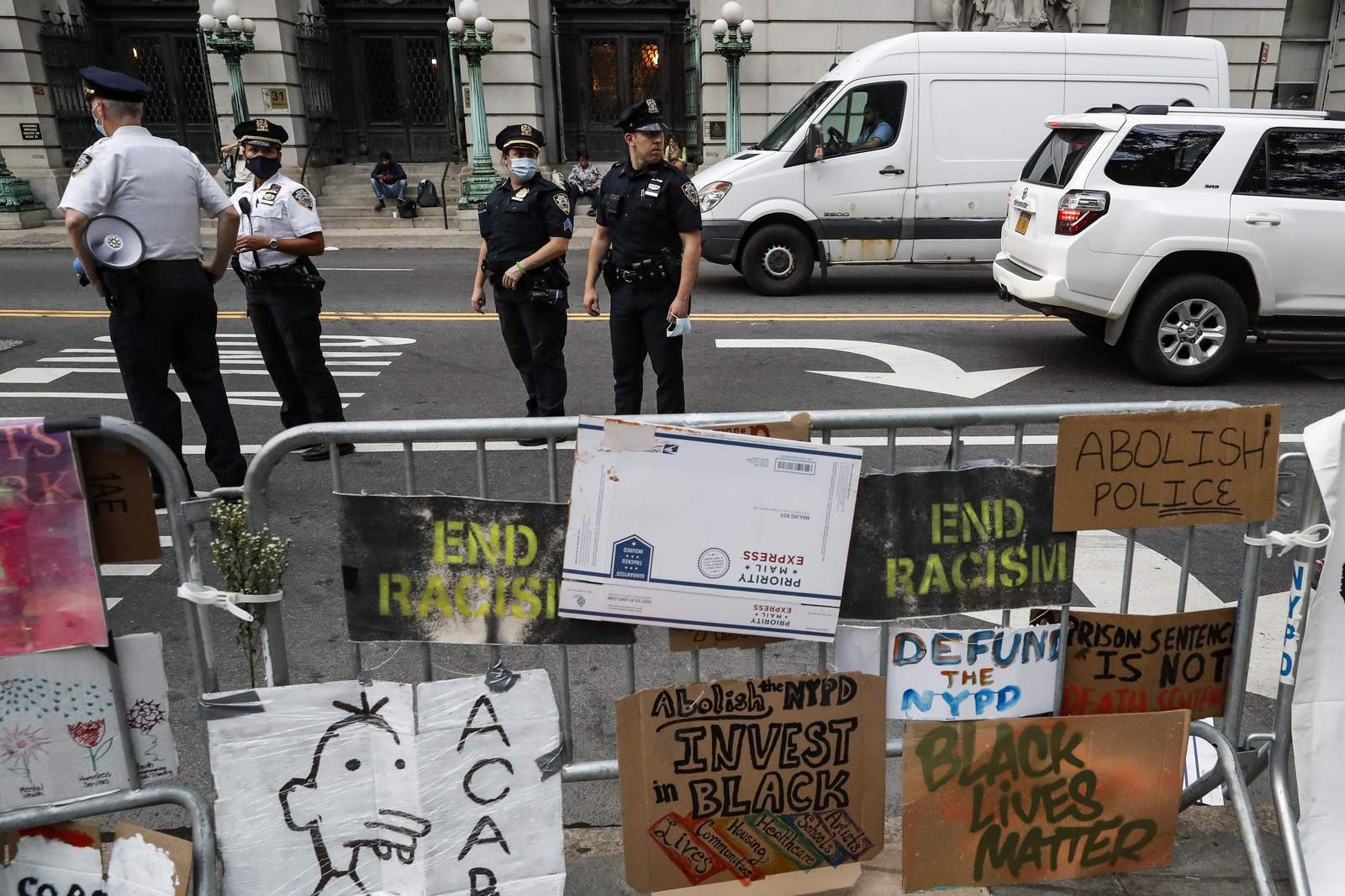 NYC budget vote looms as protests push for $1B cut to police