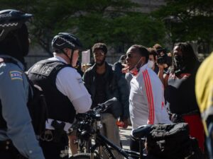 Protesters should quarantine to prevent spread of COVID-19, Lightfoot says