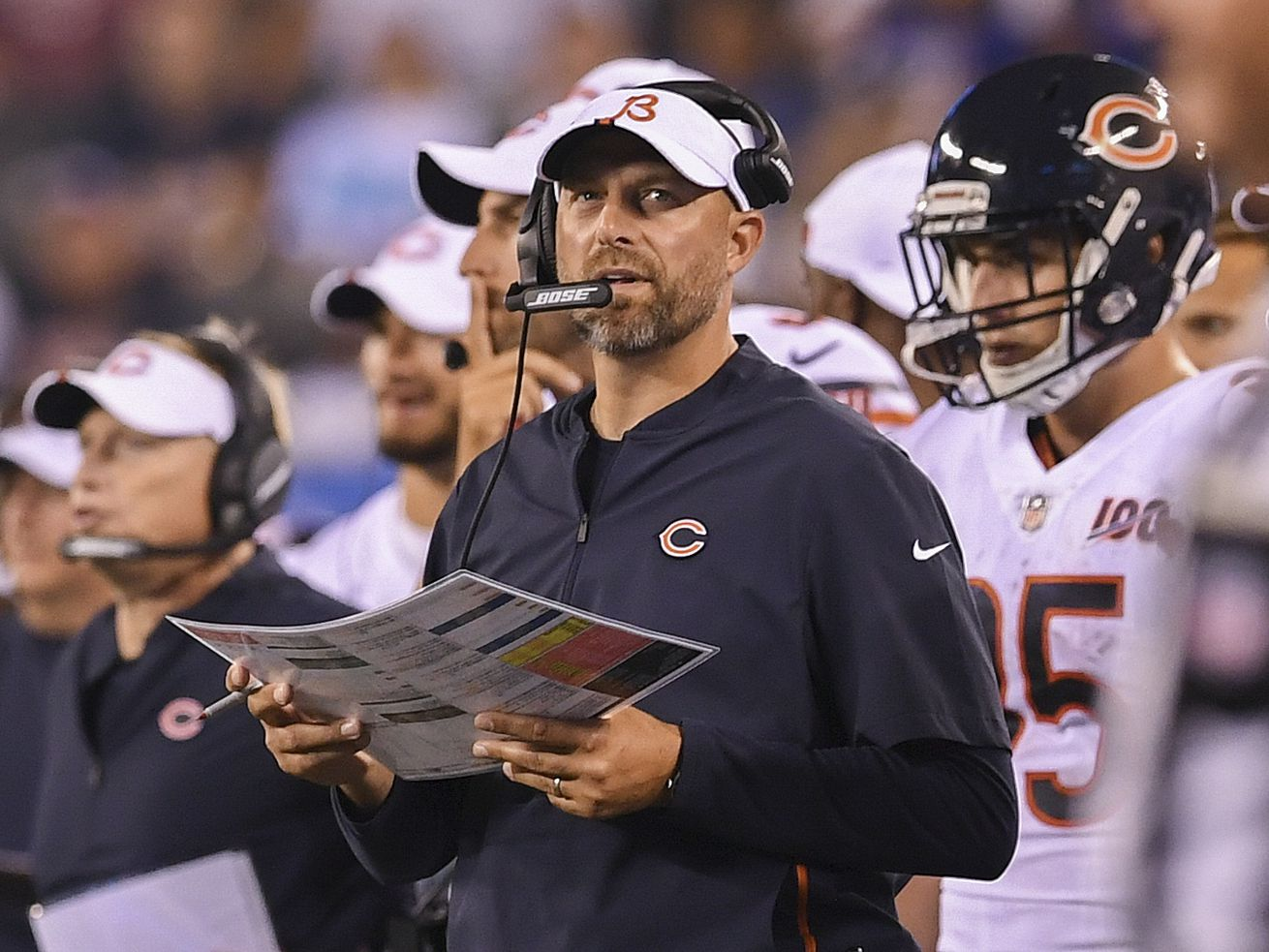 Matt Nagy: If Bears demonstrate to protest racial inequality, it will be in unison