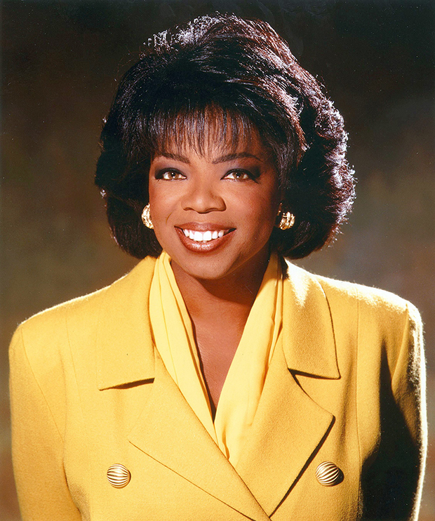 Oprah Winfrey through the years