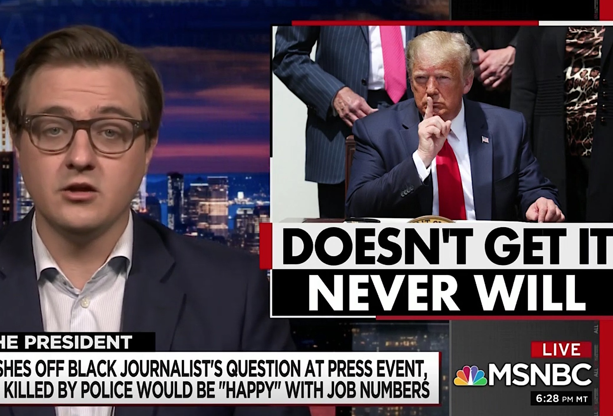 Chris Hayes Exposes Trump's Incoherence by Simply Reading His Words Aloud
