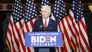 Joe Biden Drops Jokes & Takes Selfies While Supporting Protesters In Delaware
