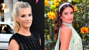 'Glee' Star Heather Morris Defends Lea Michele Even Though She Was 'Unpleasant To Work With'