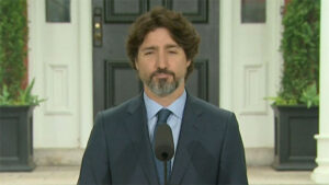 Justin Trudeau Goes Silent When Asked What He Thinks About Trump's Response To George Floyd Protests