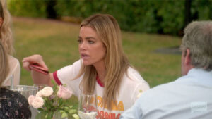 'RHOBH' Recap: Denise Richards Storms Out Of Kyle's Party After Aaron Mansplains The Ladies
