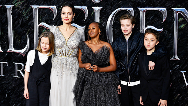 Happy 45th Birthday, Angelina Jolie: See All Of Her Sweetest Photos With Her 6 Kids