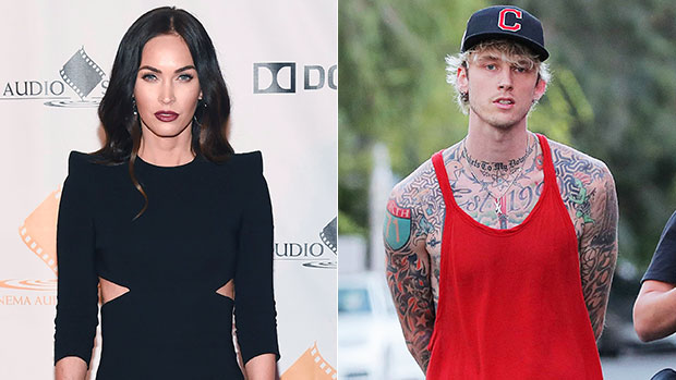 Megan Fox & Machine Gun Kelly Get Matching 'Bloody Valentine' Manicures As Romance Heats Up