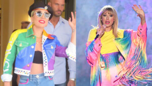 21 Stars Wearing Rainbow Looks Perfect For Pride Month: Taylor Swift, Lady Gaga, & More