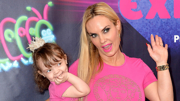 Coco Austin & Mini-Me Daughter Chanel, 4, Twin In Matching Floral Dresses — Cute Pic