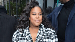 'Glee's Amber Riley Belts Out Powerful Rendition Of Beyonce's 'Freedom' At Protest For George Floyd