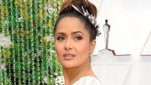Salma Hayek, 53, Posts Makeup-Free Selfie With Her Adorable Napping Partner — See Pic