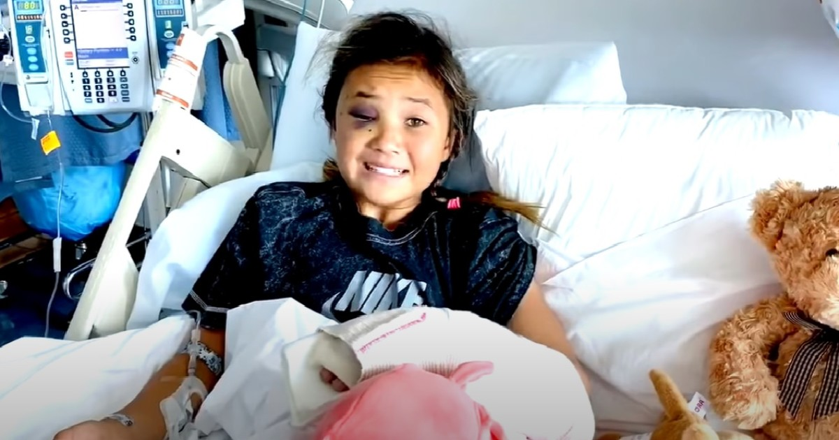 Young skateboarder Sky Brown posts video from hospital bed after crash: 'I'm OK'