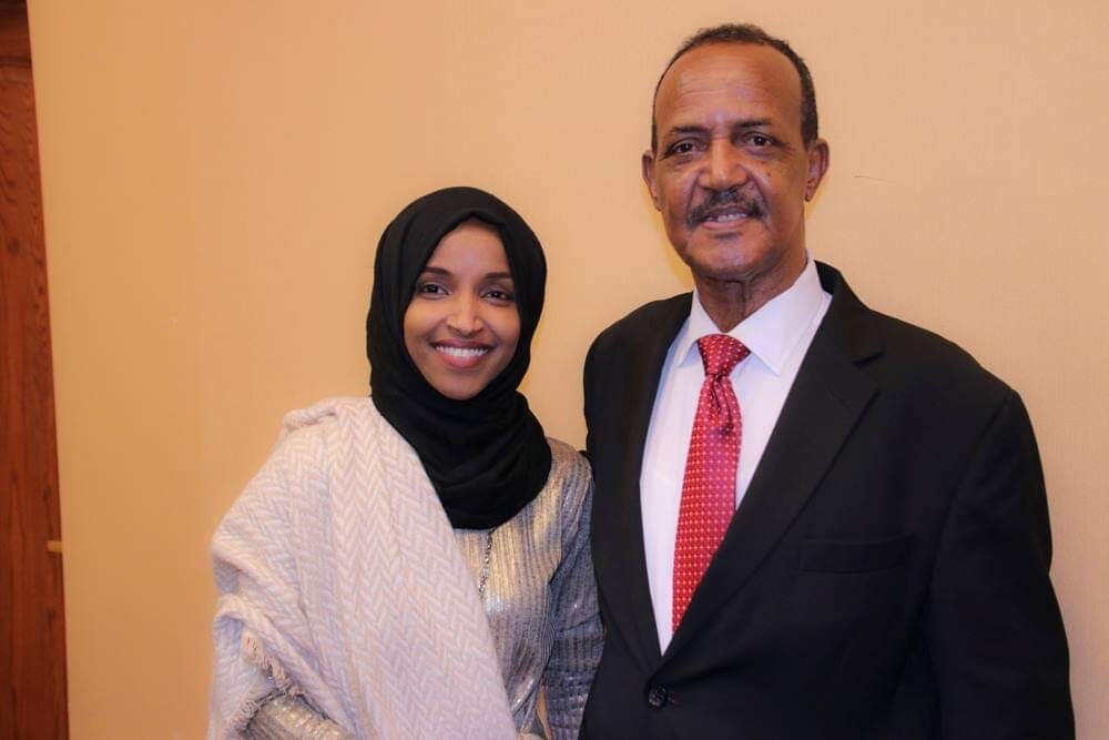 Rep. Ilhan Omar announces death of father from COVID-19 complications