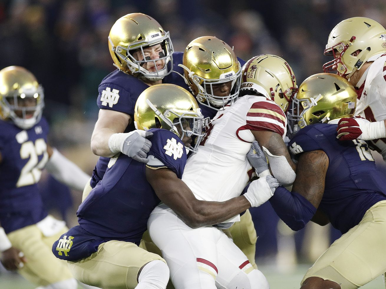 Notre Dame won't offer single-game football tickets