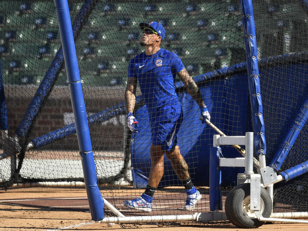 Fake fans are chanting his name at Wrigley, but will Javy Baez be the Cubs' top priority?