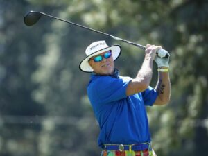 Jim McMahon finds his footing on golf course