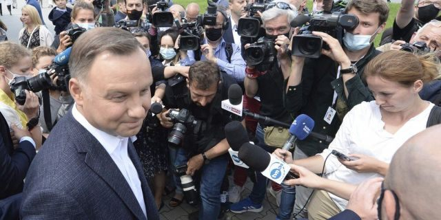 Poland's presidential runoff election too close to call, early results show