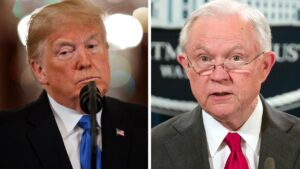 Trump's a major factor in Tuesday's primaries, as ex-AG Sessions fights for political life in Alabama