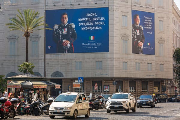 Officer Details Killing of Police Partner in Trial of Americans in Rome