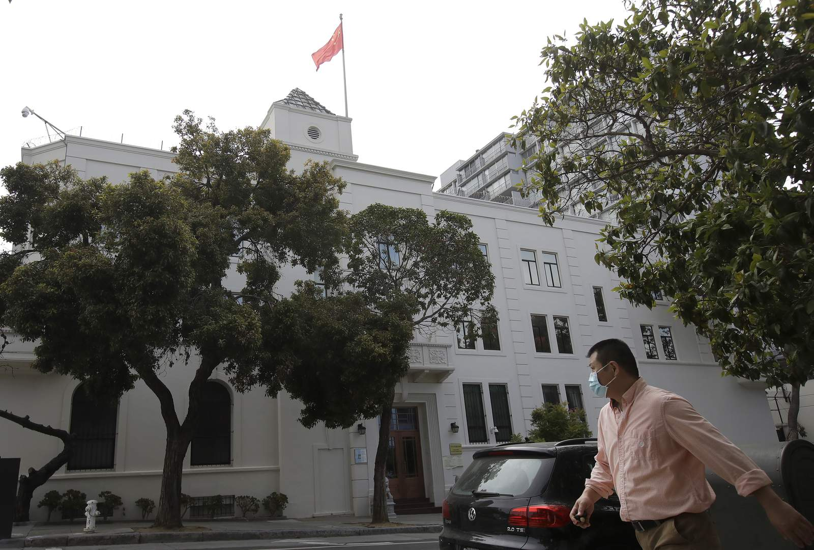 US: Researcher being harbored at Chinese consulate in SF