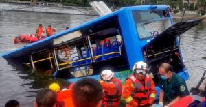 Driver Purposely Drove Bus Into China Reservoir, Killing 21, Police Say