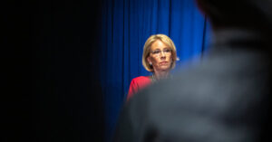 DeVos Abandons a Lifetime of Local Advocacy to Demand Schools Reopen