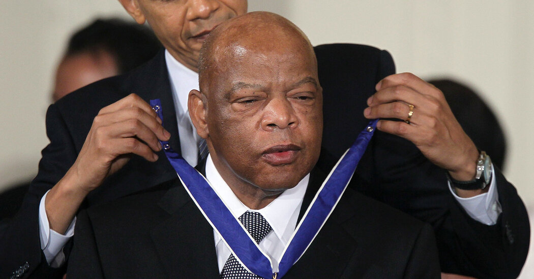 Praise for John Lewis Pours in From Nation's Political Elite