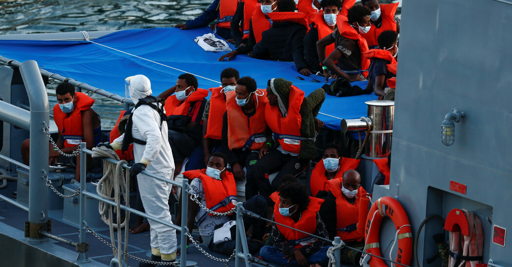 Migrants Adrift Off Malta Called for Help. Then They Waited. And Waited.