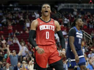 Rockets' Russell Westbrook says he tested positive for coronavirus