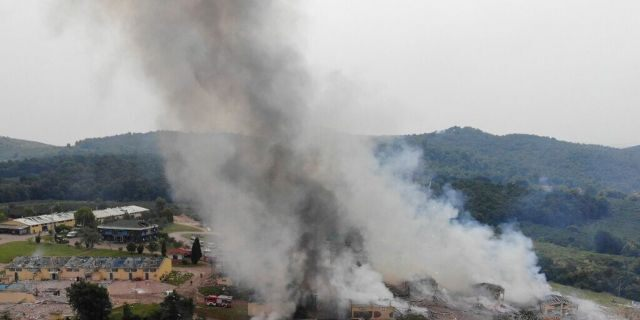 At least two dead, dozens injured as explosion rocks Turkish fireworks factory